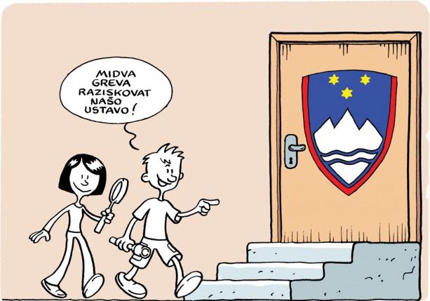 Ilustrirana ustava RS (v stripu) – Ustavno sodišče Republike Slovenije