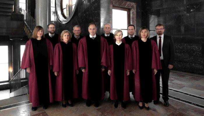Sestava ustavnih sodnikov leta 2018