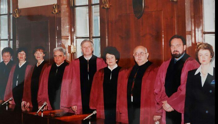 Sestava Ustavnega sodišča